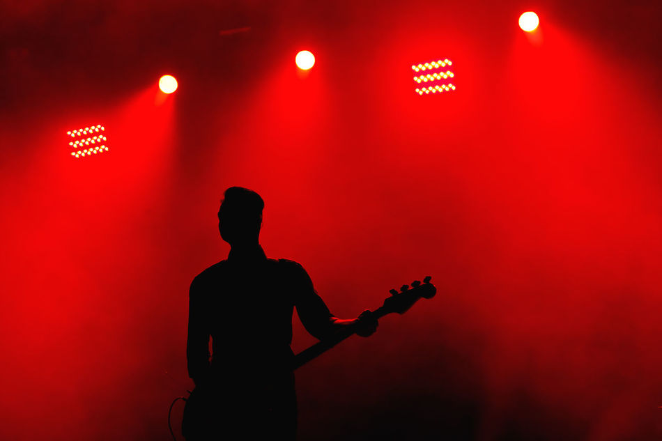 Beautiful stock photos of gitarre, Arts Culture And Entertainment, Color Image, Electric Light, Entertainment Occupation