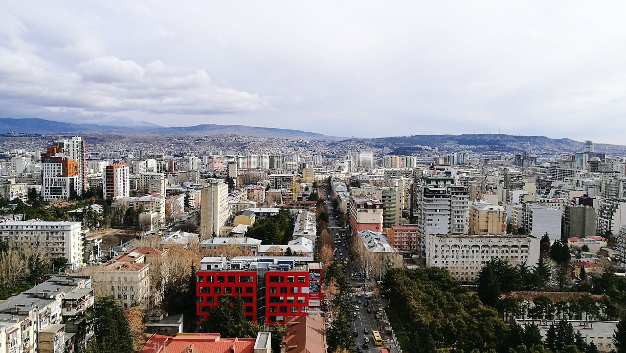 City Tbilisi View From The Top HuaweiP9