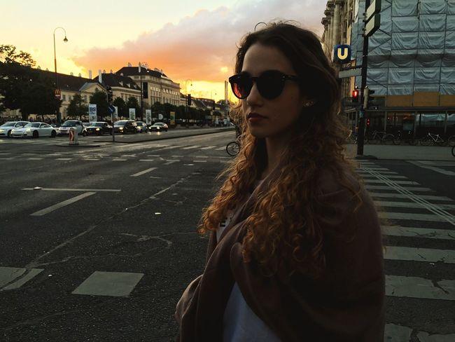 follow my girl on Instagram: ayla.eulalia Sunset Portrait Girl