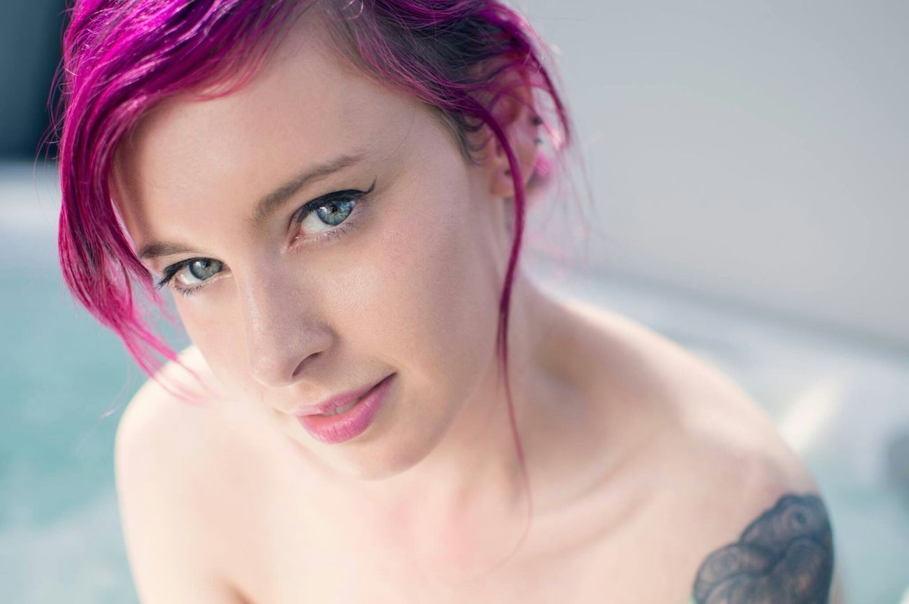The beautiful BettieRose in a new set we shot in Brisbane. A sweet sweet lady to work with 💜 Shot By Victory Outdoor Photography Pink Hair Blue Eyes Sgaustralia Portrait Gorgeous Sghopeful SuicideGirls Girls With Tattoos