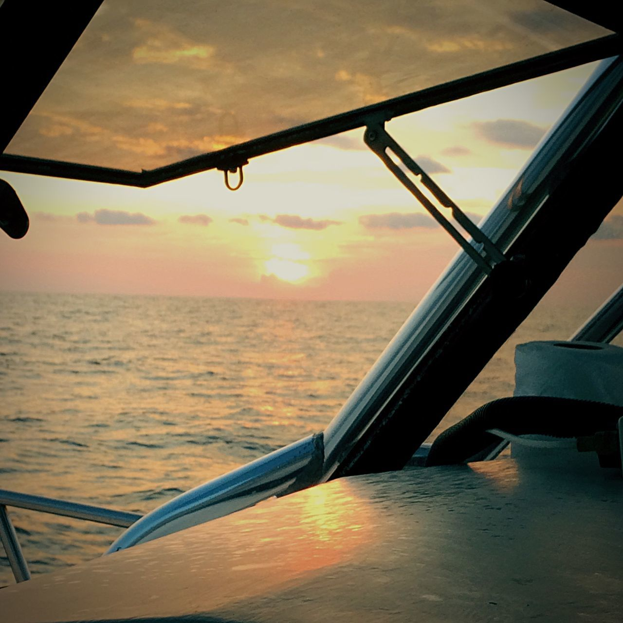 sea, water, transportation, sunset, sky, mode of transport, nature, no people, beauty in nature, scenics, cloud - sky, horizon over water, nautical vessel, outdoors, close-up, day