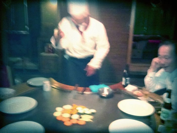 Cooking Tepaniaki