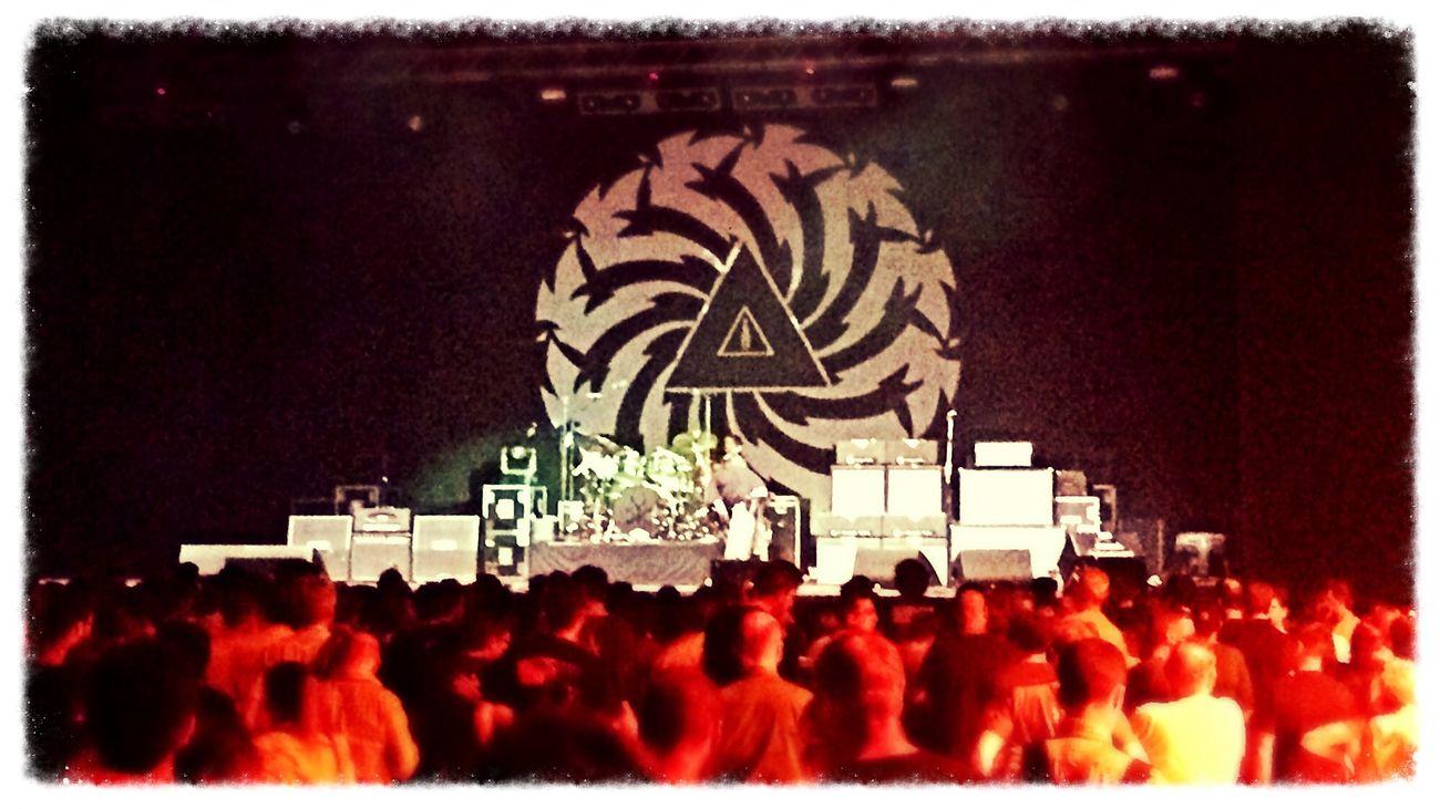 Soundgarden almost starting the show!!! Concert Hard Rock Enjoying Life
