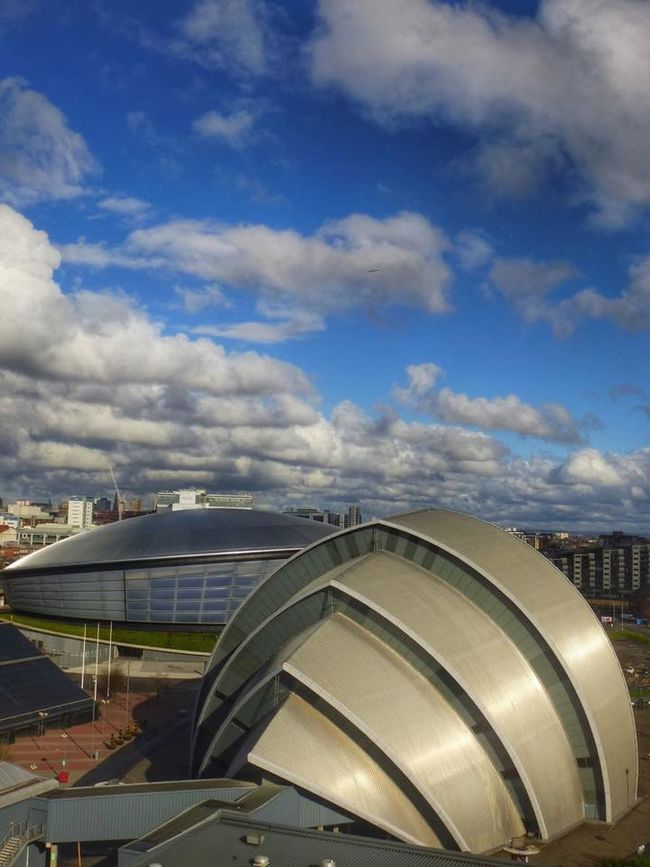 Glasgow  Cityscapes Scotland. Clyde, river,