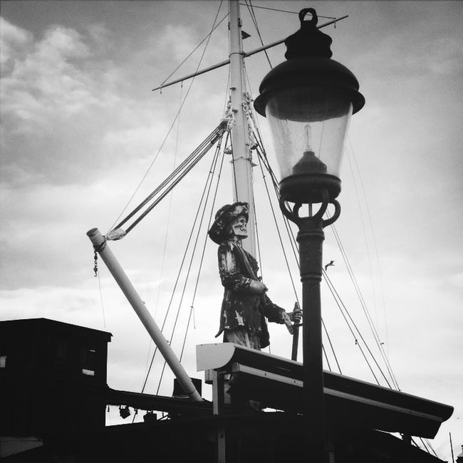 This is on a party boat, named Patricia, permanently moored here in Stockholm. Hanging Out Statue Taking Photos Södermalm EyeEm Best Shots EyeEm Best Shots - Black + White Stockholm Eye4black&white  Eye4photography