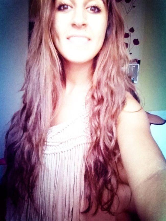 Girl Hair Just Smile