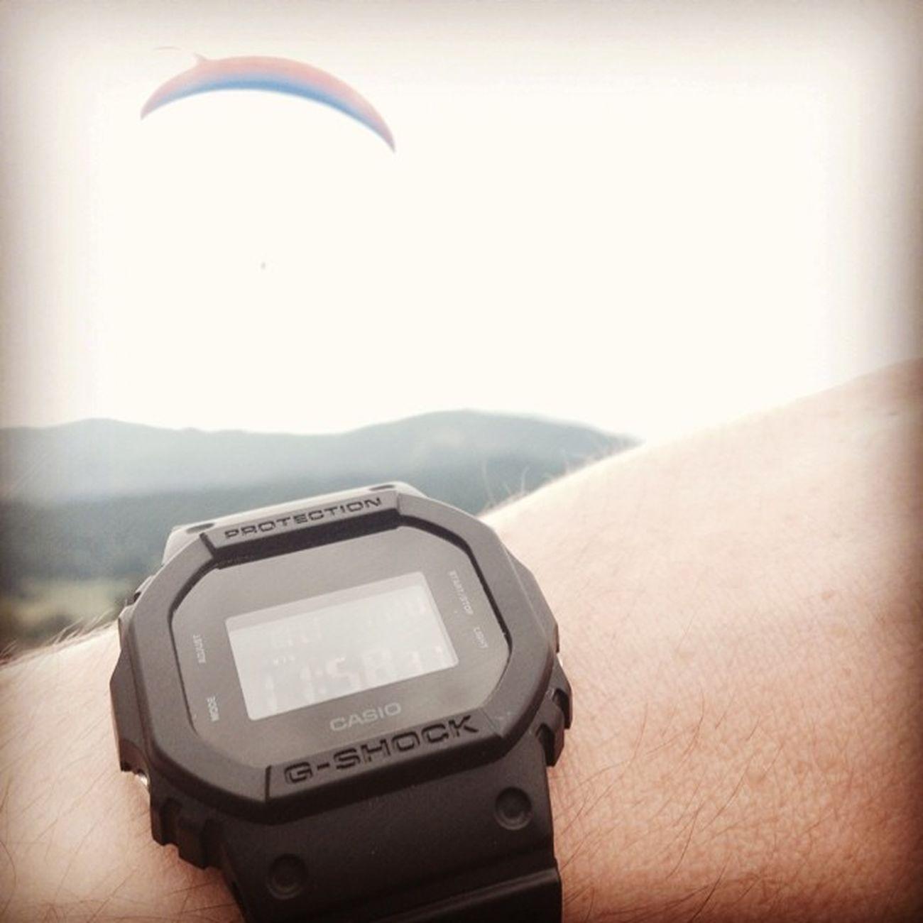 Casio Gshock Dw5600bb Parapente Paragliding Instaaction Instawatches NOVA Dw5600 -bb