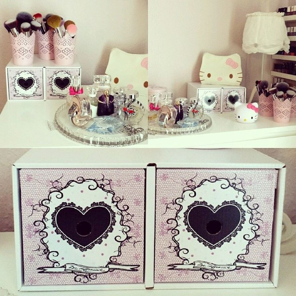 In love with my new storage boxes ? IKEA Storage Makeupstorage Makeupcollection makeupaddict makeuplover bblogger beautyblogger blogger cosmetics beauty beautiful loveit