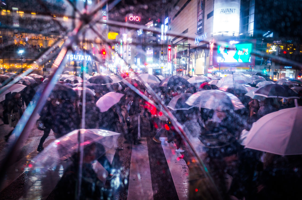 From My Umbrella ◀☔️🌃 Shibuyascapes Pivotal Ideas Change Your Perspective City City Street Crowd Exceptional Photographs Illuminated Night Outdoors People Rain Street Photography Umbrella Urban Exploration Women Atmospheric Mood EyeEm Best Shots EyeEm Gallery Capture The Moment Enjoying Life Night Lights Fine Art Battle Of The Cities