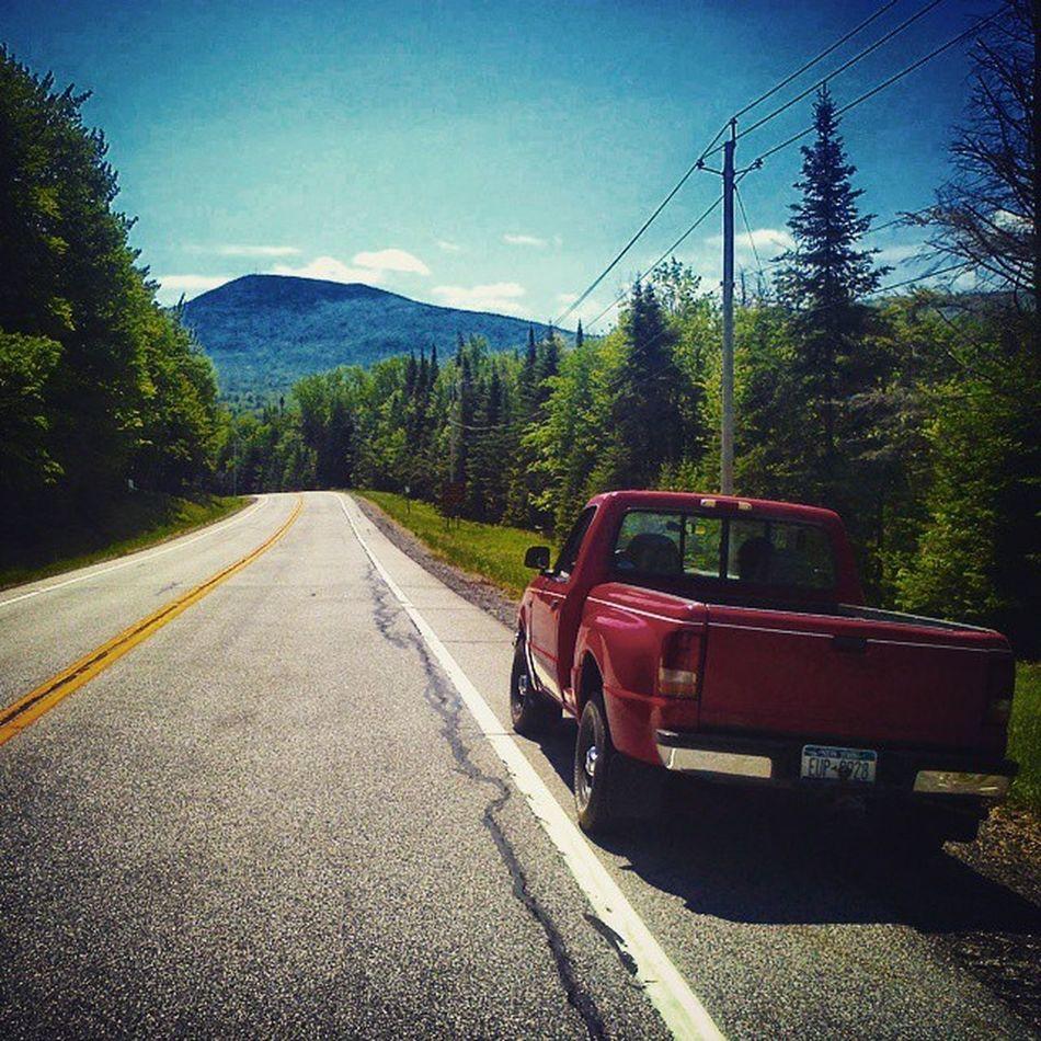 Fordranger ADK Adirondacks Mountains Travel Explore Red Nature Color