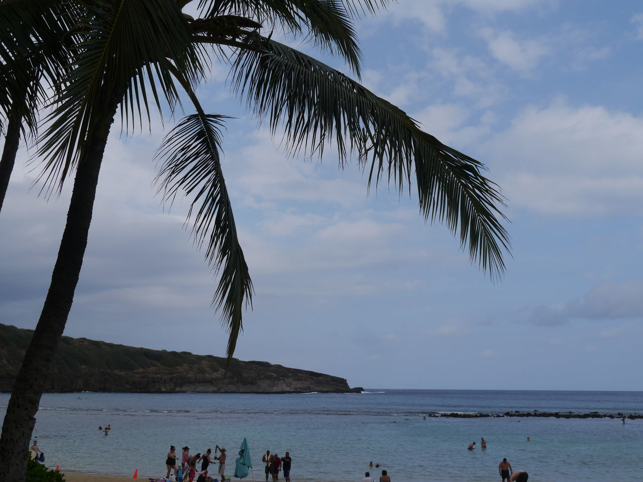 Beauty In Nature Cloud Cloud - Sky Cloudy Coastline Hanauma Bay Hanauma Bay State Park Horizon Over Water Leisure Activity Lifestyles Mixed Age Range Nature Non-urban Scene Outdoors Scenics Sea Shore Sky Tatonic Plate Tourism Tourist Tranquil Scene Tree Vacations Water