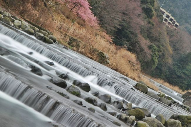 Tripod plus 3 layers of ND filter work during the day. Canon Japan Landscape Long Exposure Nature ND Filter No People Outdoors River Tilt Travel Destinations Trip 箱根湯本