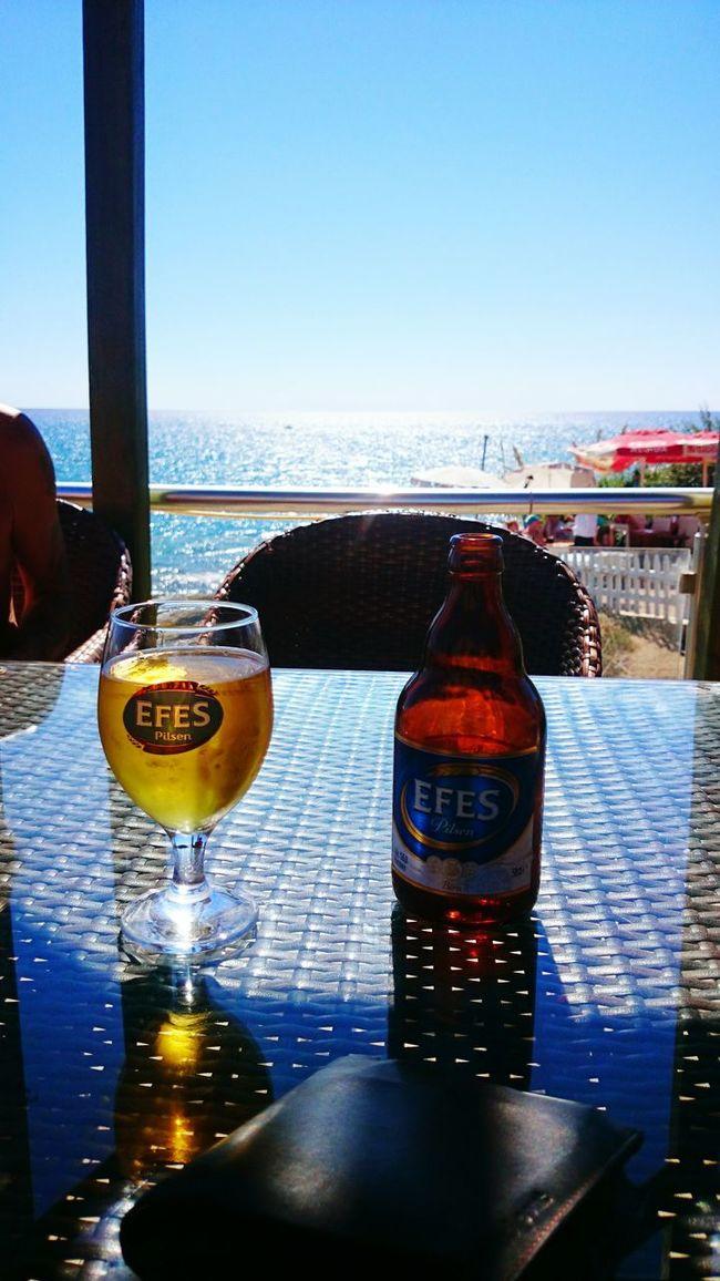 Efes Efes Pilsen🍺 Efes Pilsen EfesPilsen Hello World Relaxing Side, Turkey Turkey Blue Wave