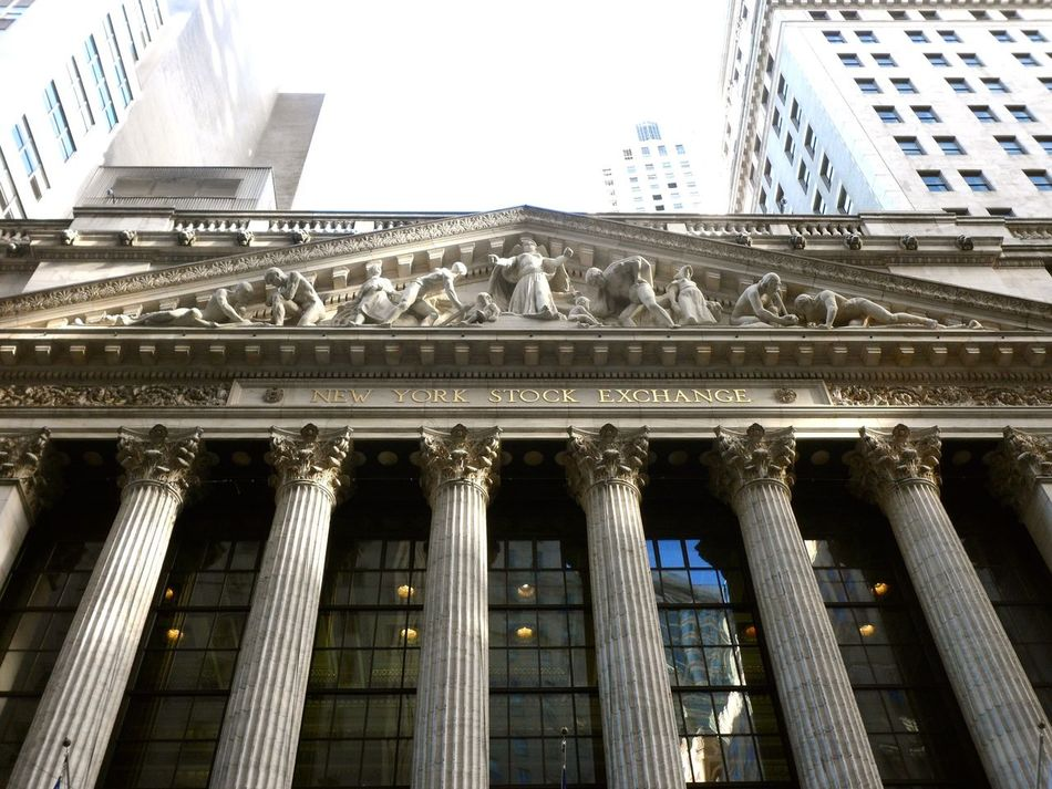 Beautiful stock photos of stock exchange, Architecture, Building Exterior, Built Structure, Clear Sky