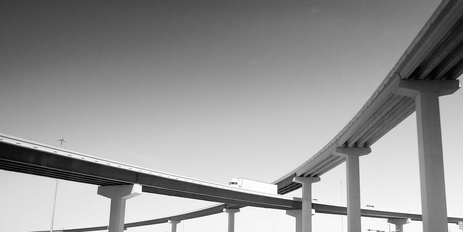 Fine Art Photography Bridge Black And White Architecture Fine Art Photography. Black & White Black And White Photography Truck Urban Landscape Minimalism Bridgeporn Under The Bridge Dallas Texas