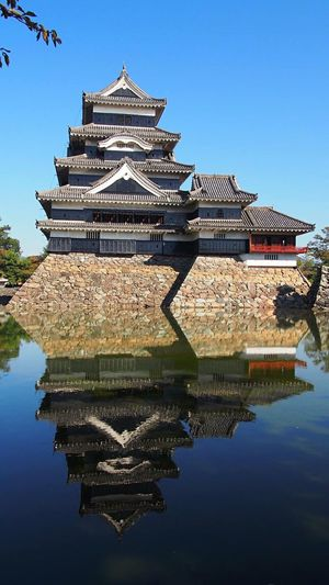 Matsumoto Castle Matsumoto Castle / Japan Matsumoto Castle Nagano Nagano, Japan Japan Japanese Castle Cool Japan Japanese Style Japanese Traditional Reflection Samurai EyeEm Best Shots National Treasure 松本城 長野県 国宝 Reflection_collection My Favorite Picture  Castle View  Castle Walls Water Reflections ASIA 現存天守