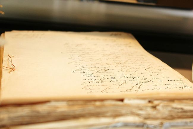 Old Documents Old Letters Secrets
