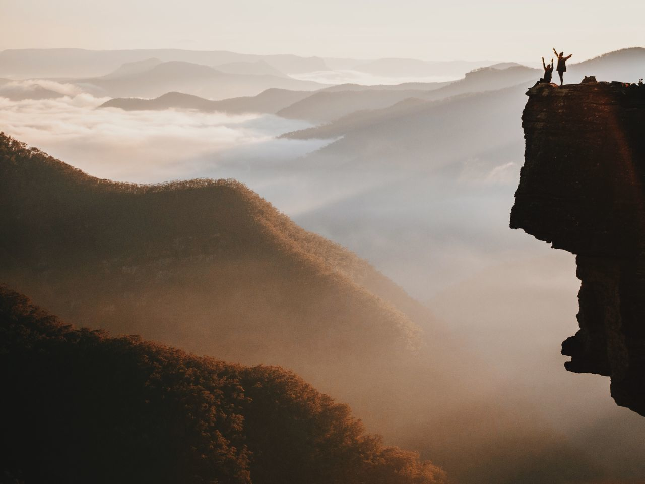 Beautiful stock photos of freedom, Adventure, Arms Raised, Beauty In Nature, Cliff