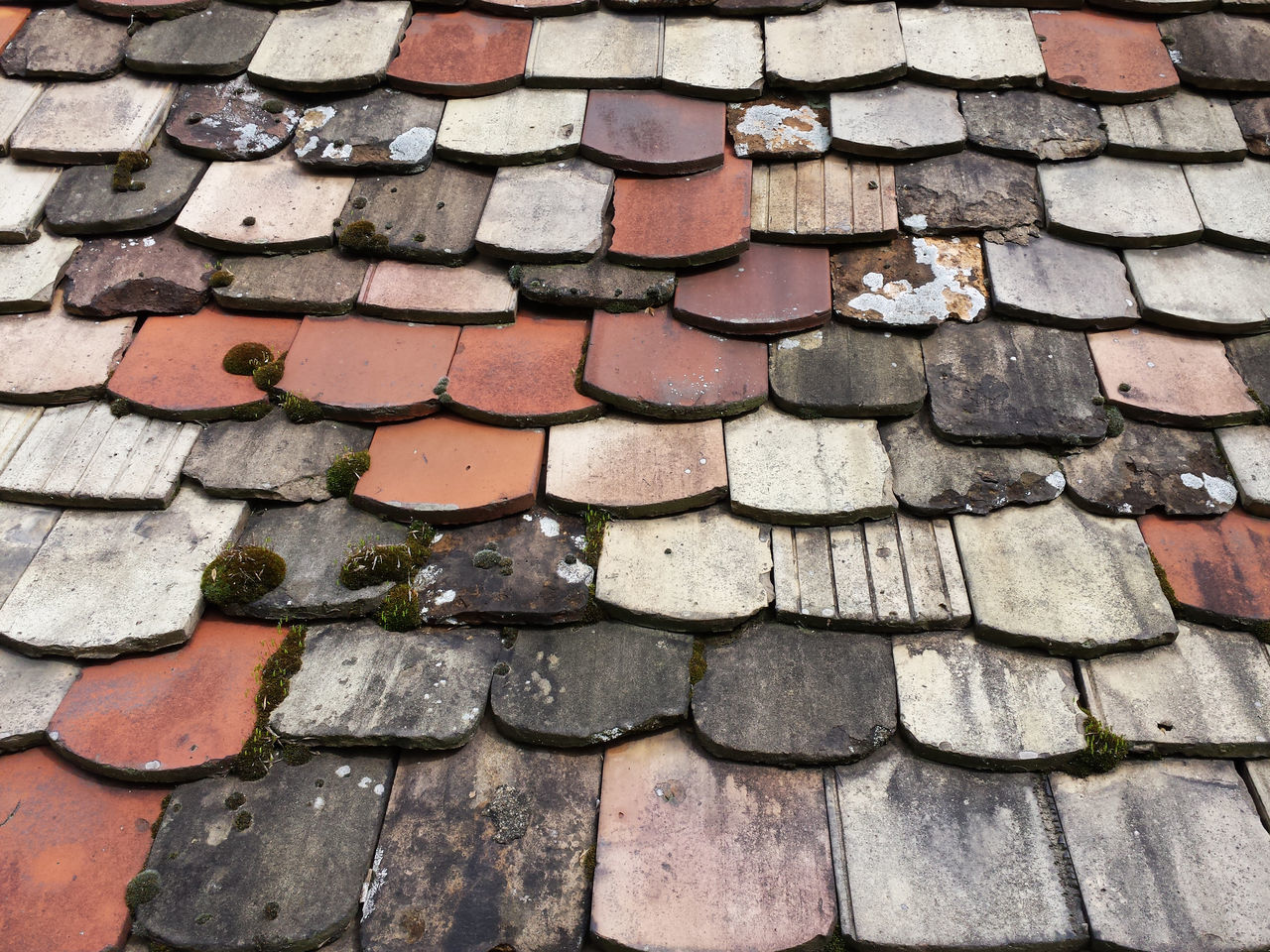 Roof Adobe Architecture Backgrounds Bildfolge Close-up Day Detail Full Frame House Decoration No People Old Outdoors Photography Roof Pans Stone Tile