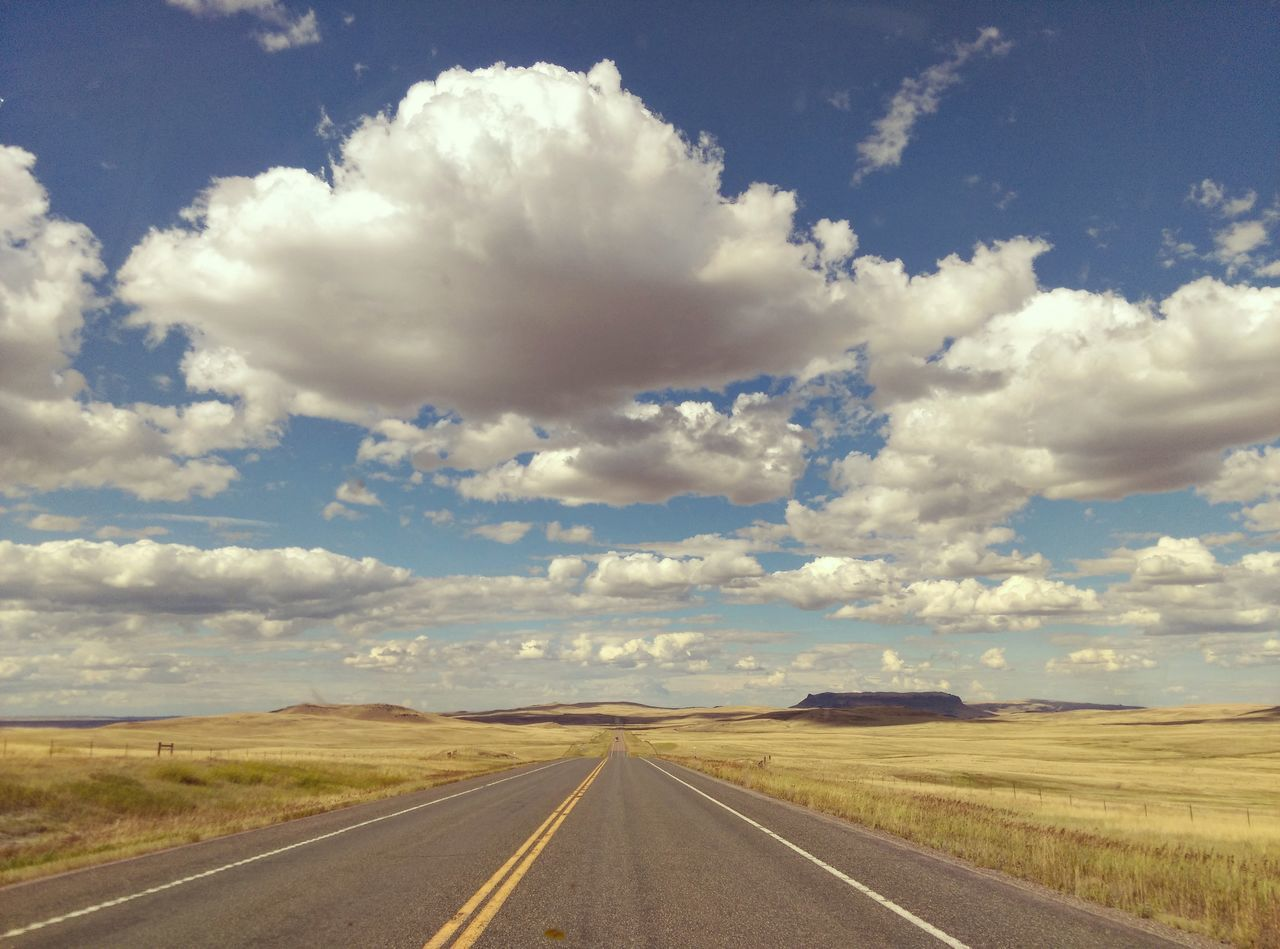 Big sky country. Fine Art Photography Montana Open Road