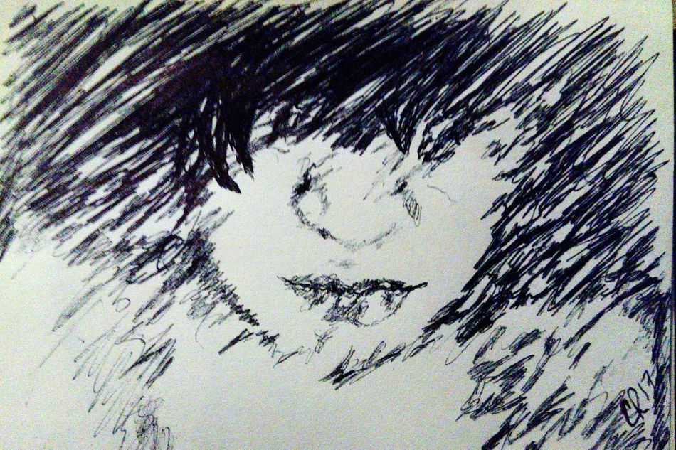 Drawing Ink Inkdrawing Ink Drawing ScribbleDrawing Scribble Face art Art, Drawing, Creativity Artistic Expression Art Blackandwhite Black And White My Art Sketch