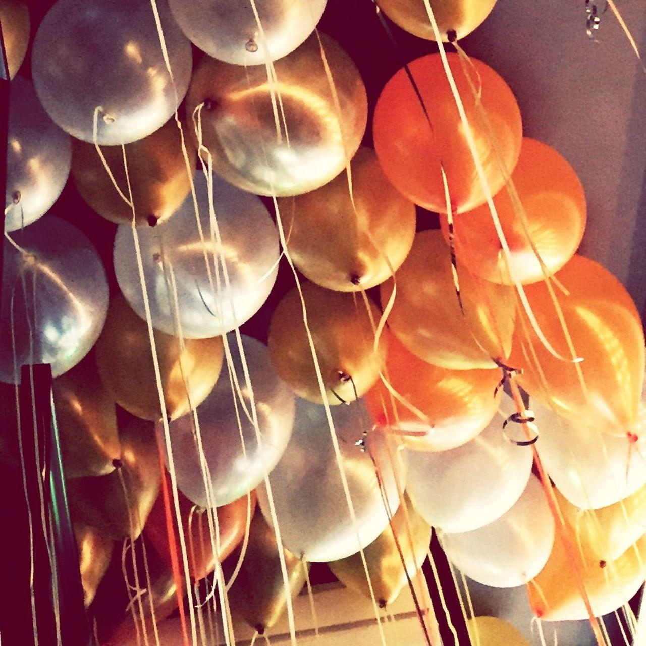 Make Magic Happen Balloons Orange Zoom In