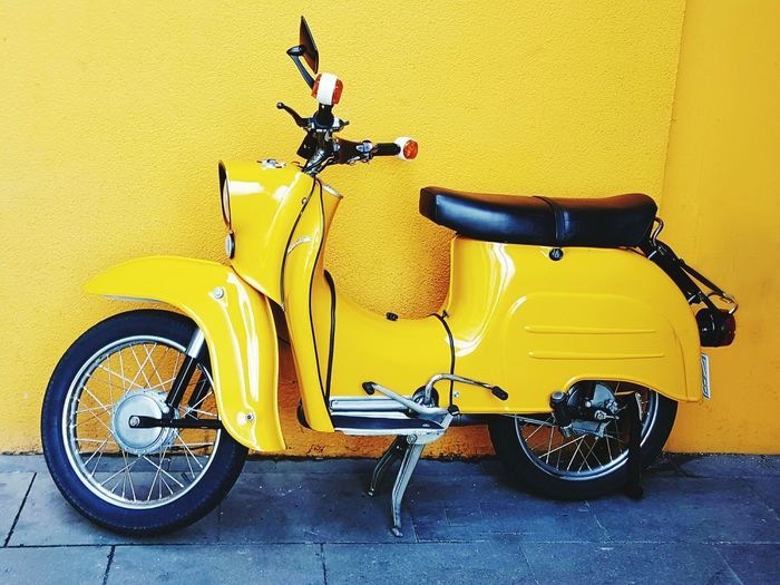 Moped Mopeds Vespa Yellow Yellow Color Yellow Wall Yellow Moped Yellow Moped Yellow Wall 43 Golden Moments Colour Of Life