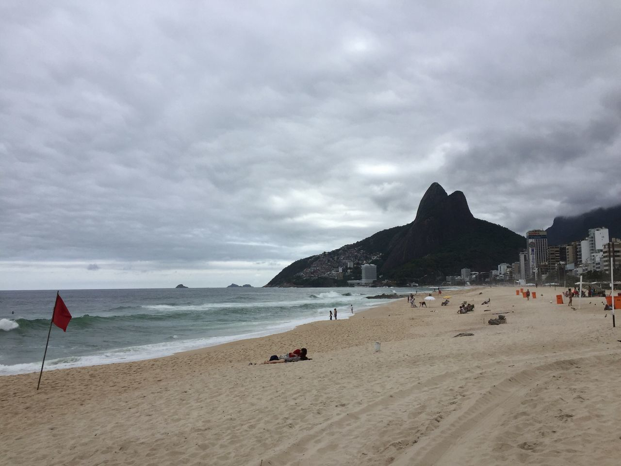 Dois Irmãos Ipanema Beach Rio De Janeiro Brasil ♥ Sea Beach Water Sand Sky Shore Cloud - Sky Nature Horizon Over Water Beauty In Nature Scenics Tranquility Outdoors Coastline Tranquil Scene Day (taked in nov/16/2016) What Who Where