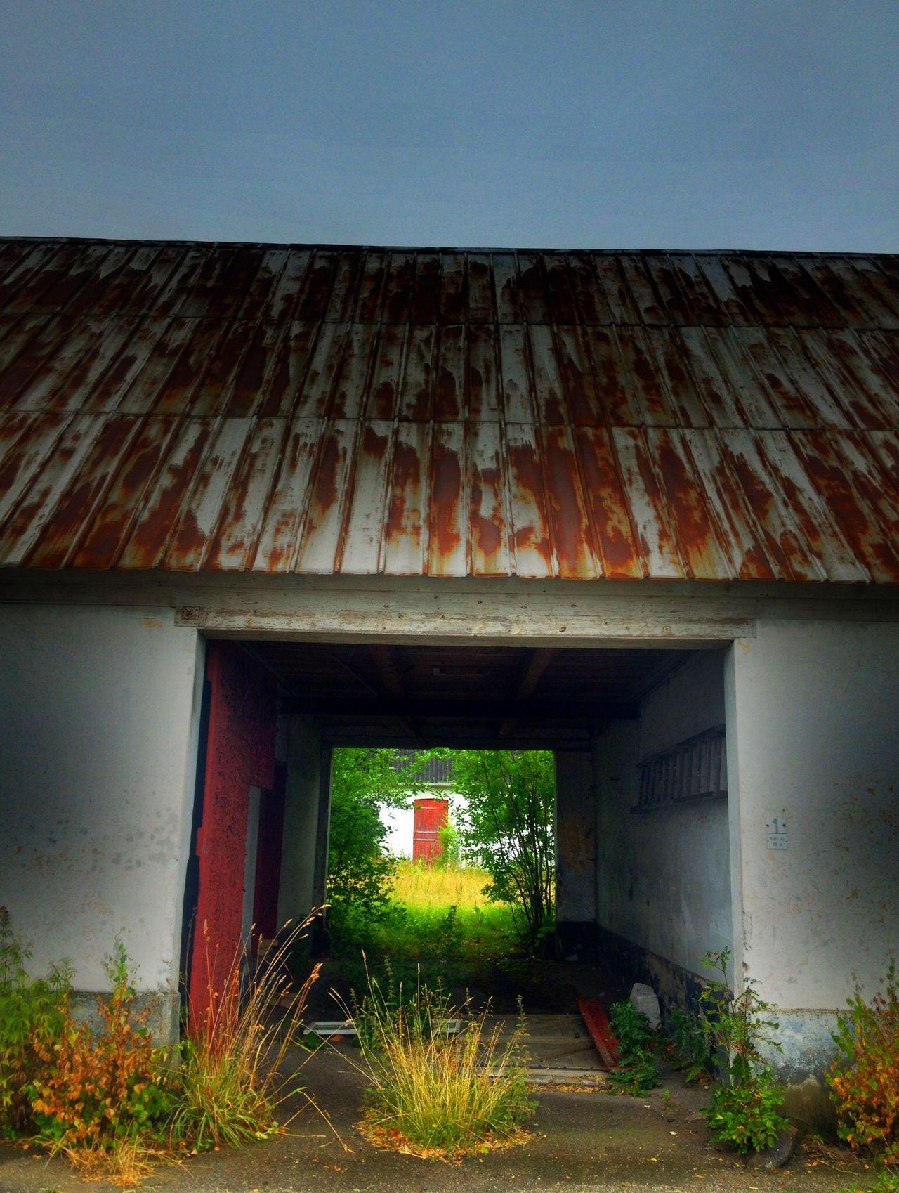 One farm. Once a farm. The countryside in Denmark is on sale. Farm Denmark Hello World