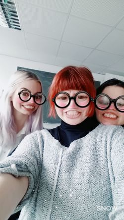 Togetherness Eyeglasses  Friendship Women People Adult Adults Only Headshot Front View Happiness Small Group Of People Portrait Teamwork Day EyeEm Gallery Fun HelloEyeEm Check This Out Choice Hi! Hello World Picture Close-up Classmates LOL!