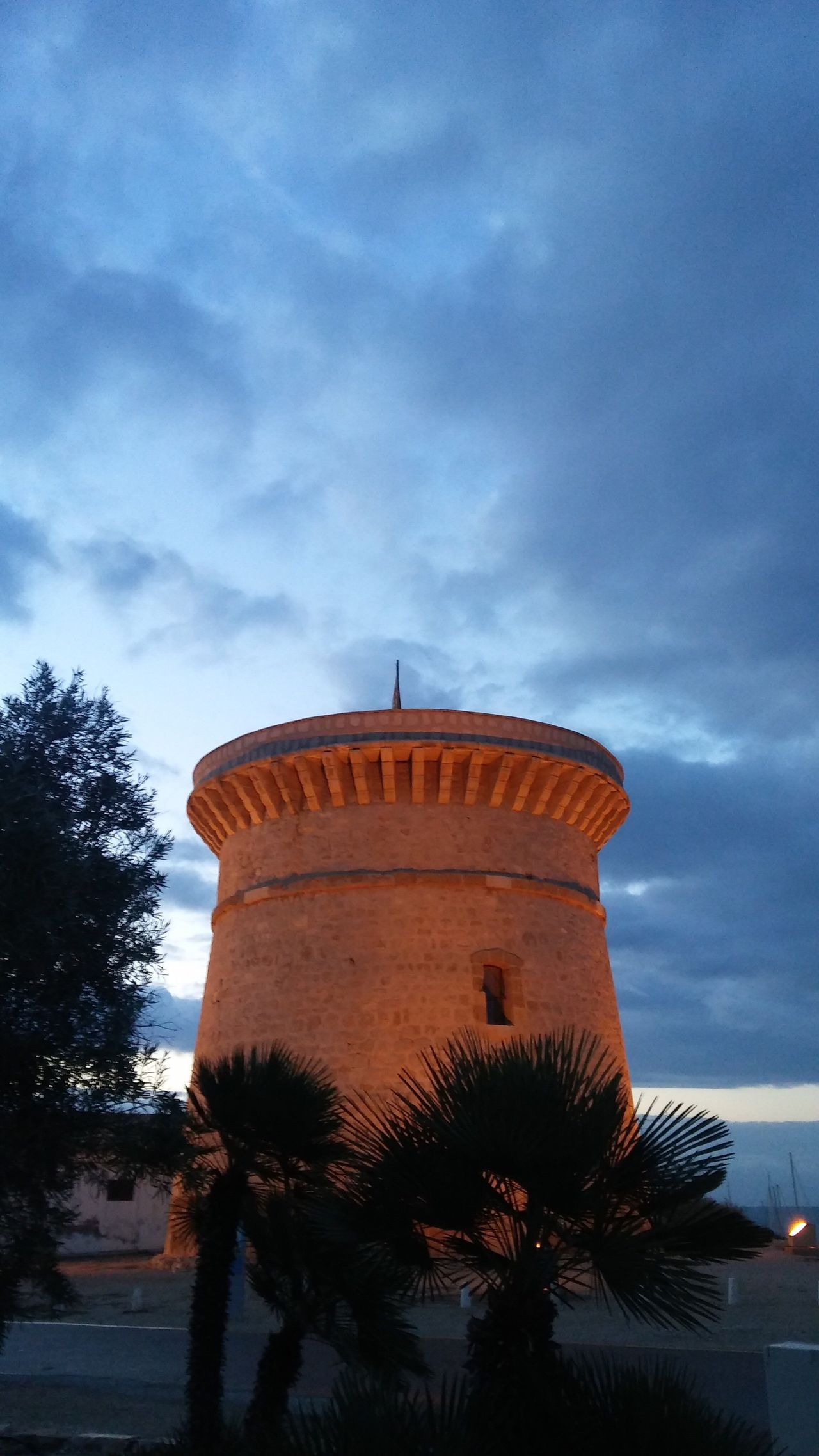 Sky Tree Cloud - Sky Architecture Low Angle View Built Structure Building Exterior Outdoors No People Nature Day Architecture Arquitectura History Historic Torre Campello