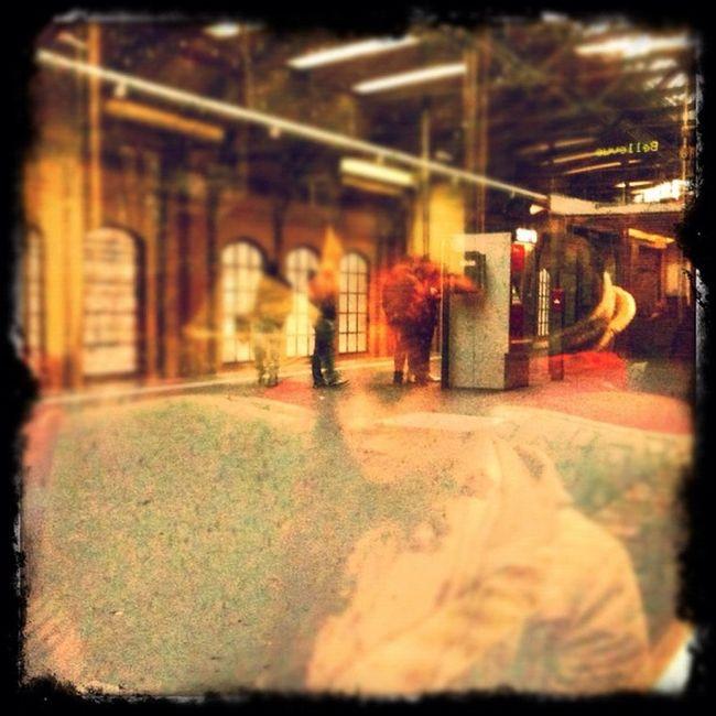 shegohst IV Girl Gohst Train Travel berlin