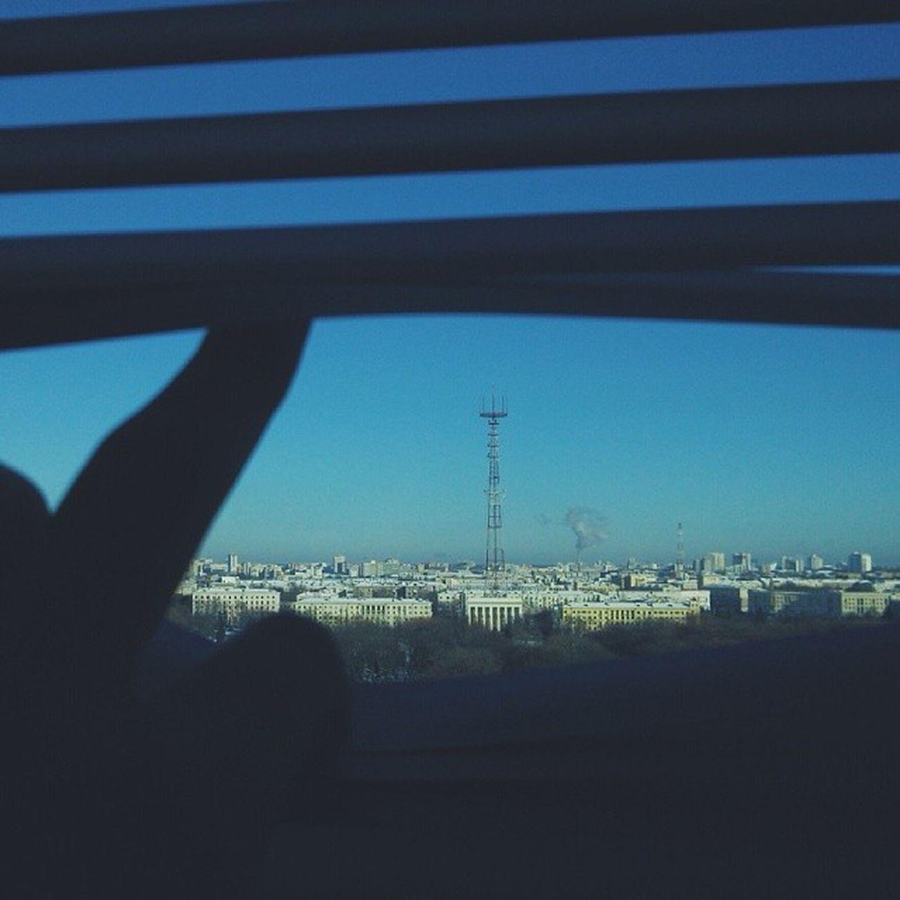 Winter Window Cityminsk Vscocam frame