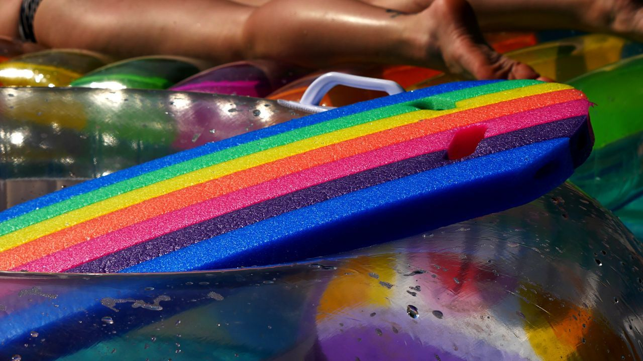 Multi Colored Rainbow Close-up Holidays Colorful Vacation Adult Rainbow Colors Destinations Summer People Lifestyles Sunny Travel EyeEm Selects
