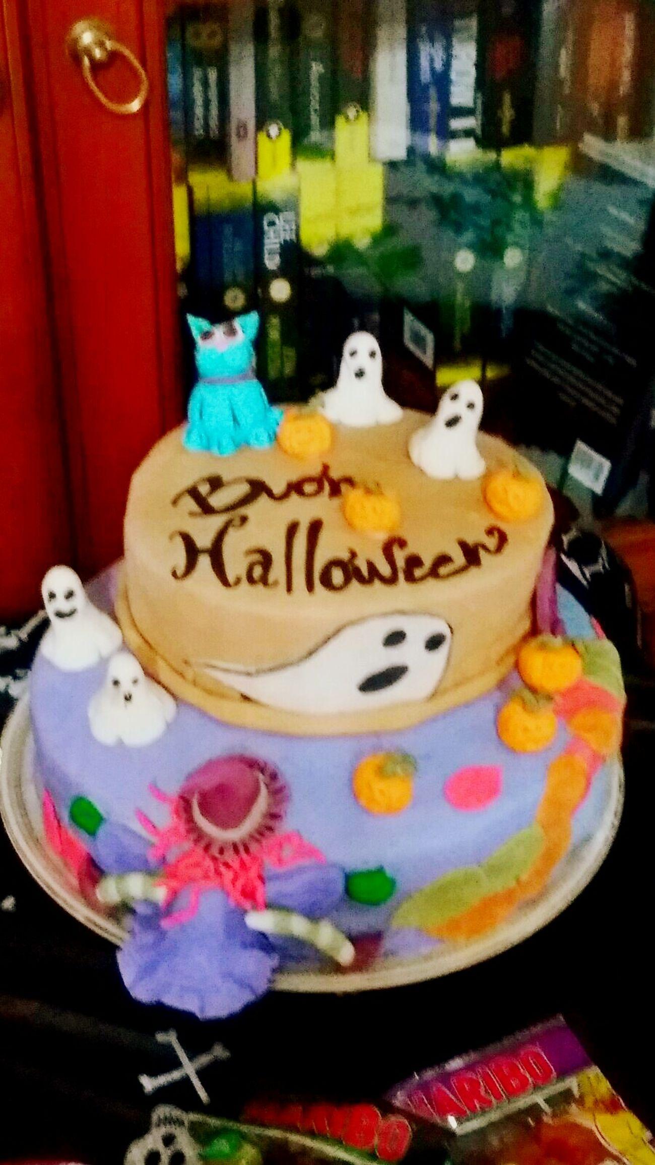 Torta fatta da me 😙 Happy Halloween Halloween2015 Halloween Halloween Cake Cake Decorator