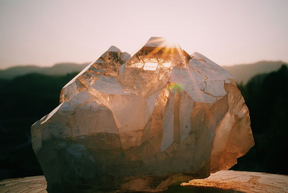 Crystal Crystals Quartz Sun Light Spiritual Magic Kristal Shine Healing EyeEm Nature Lover