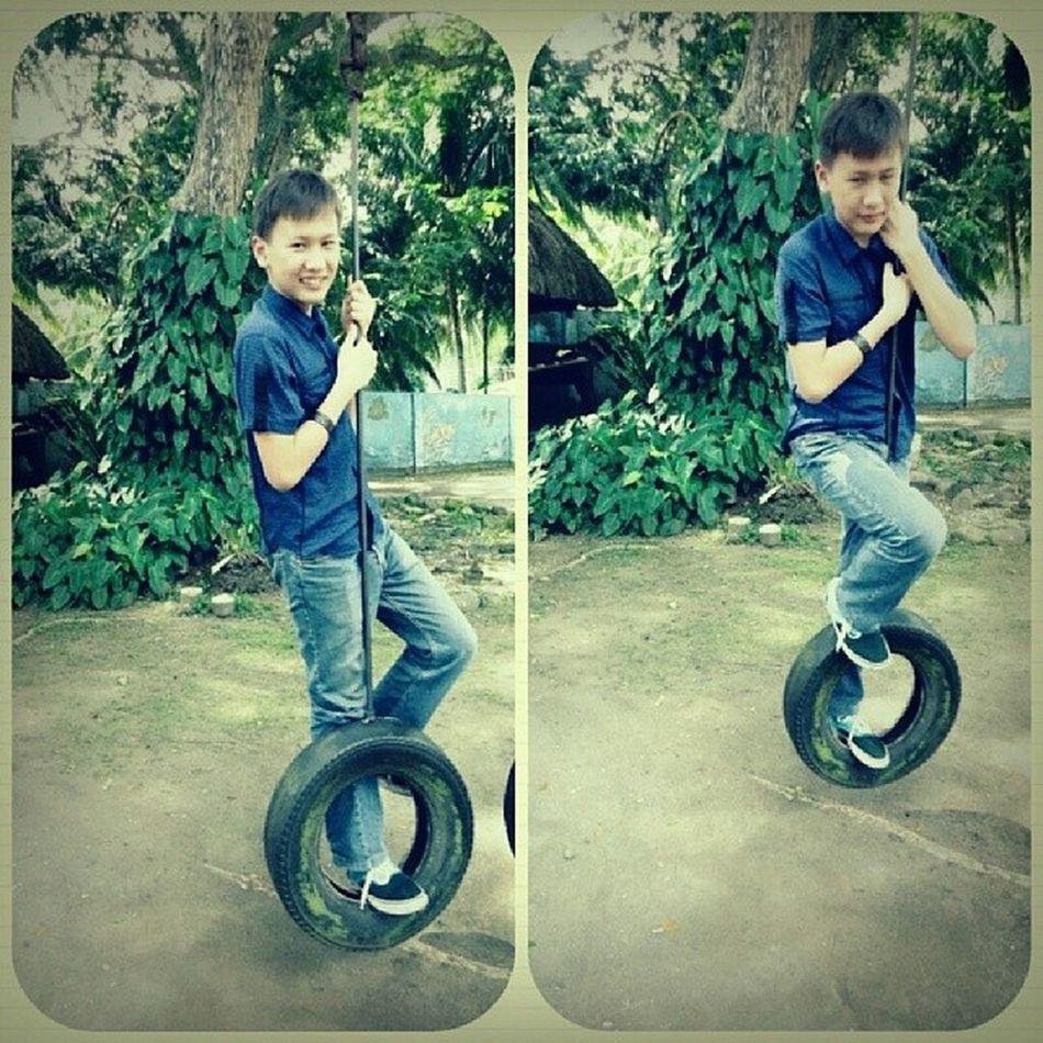 Throwback. :))) WreckingTire Wrecking Tire Tb Blue Fail Tbt Dumaguete Pic Baller