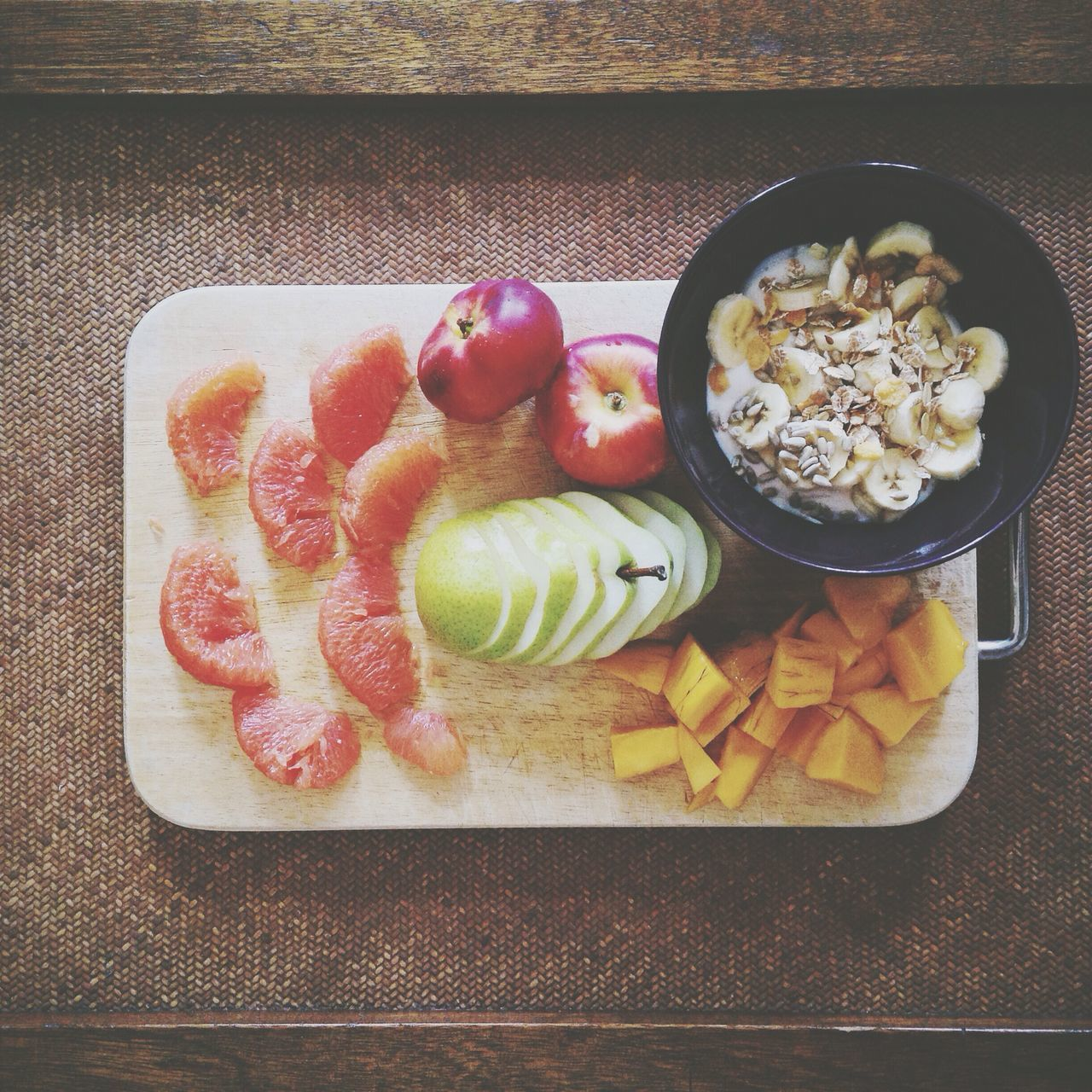 Beautiful stock photos of fruit, Austria, Bowl, Chopping Board, Close-Up