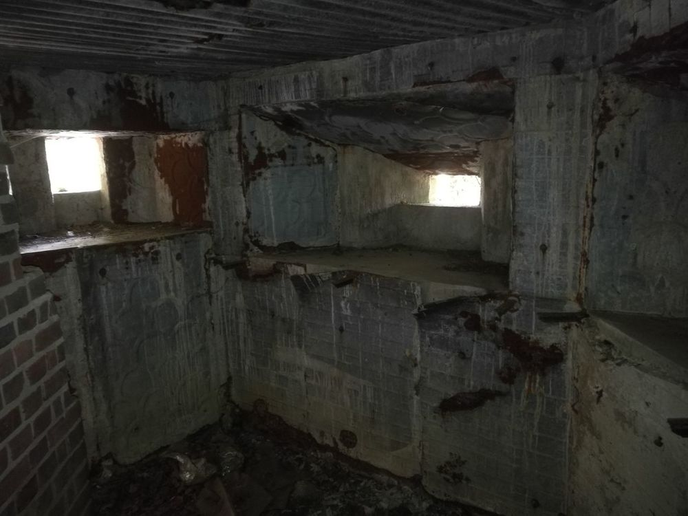 WWII Military Structure PILLBOX Architecture