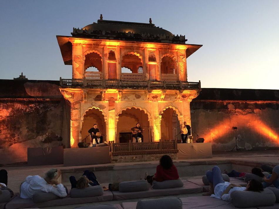 Architecture Night India Architecture India Palac Nagaur India Palace By Night Palace In Nagaur Stunning Architecture India
