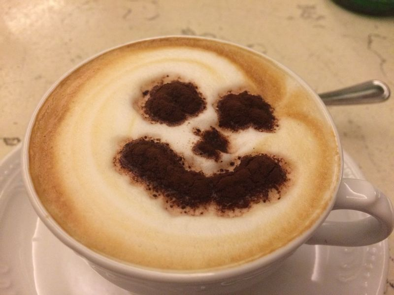 Happy coffee Cappuccino