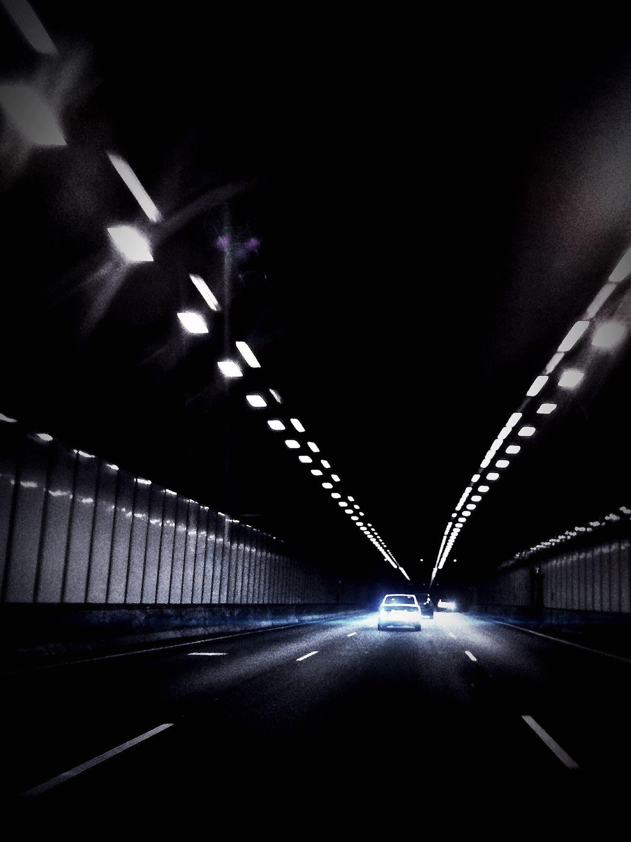 Wrong lane fool Perth tunnel