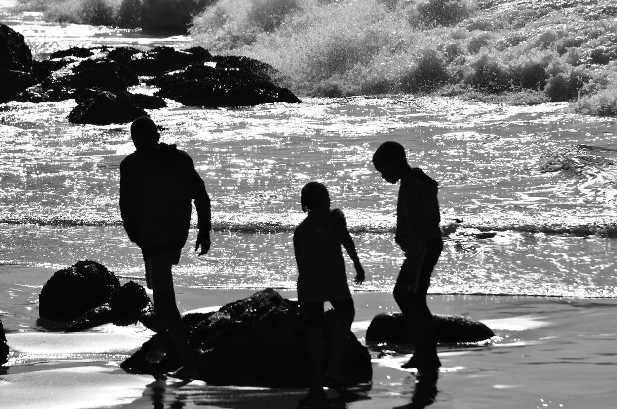 People Of The Oceans Black & White Blackandwhite Photography South Africa Monochrome Plettenberg Bay Silhouettes Silhouette_collection Silhouettes Of People Indian Ocean Family Time By The Sea Children By The Sea Kids By The Sea Plettenberg Beach South Africa Beacon Island Resort South Africa Family On The Beach Family Love On The Beach Beach Silhouettes Fresh On Market June 2016