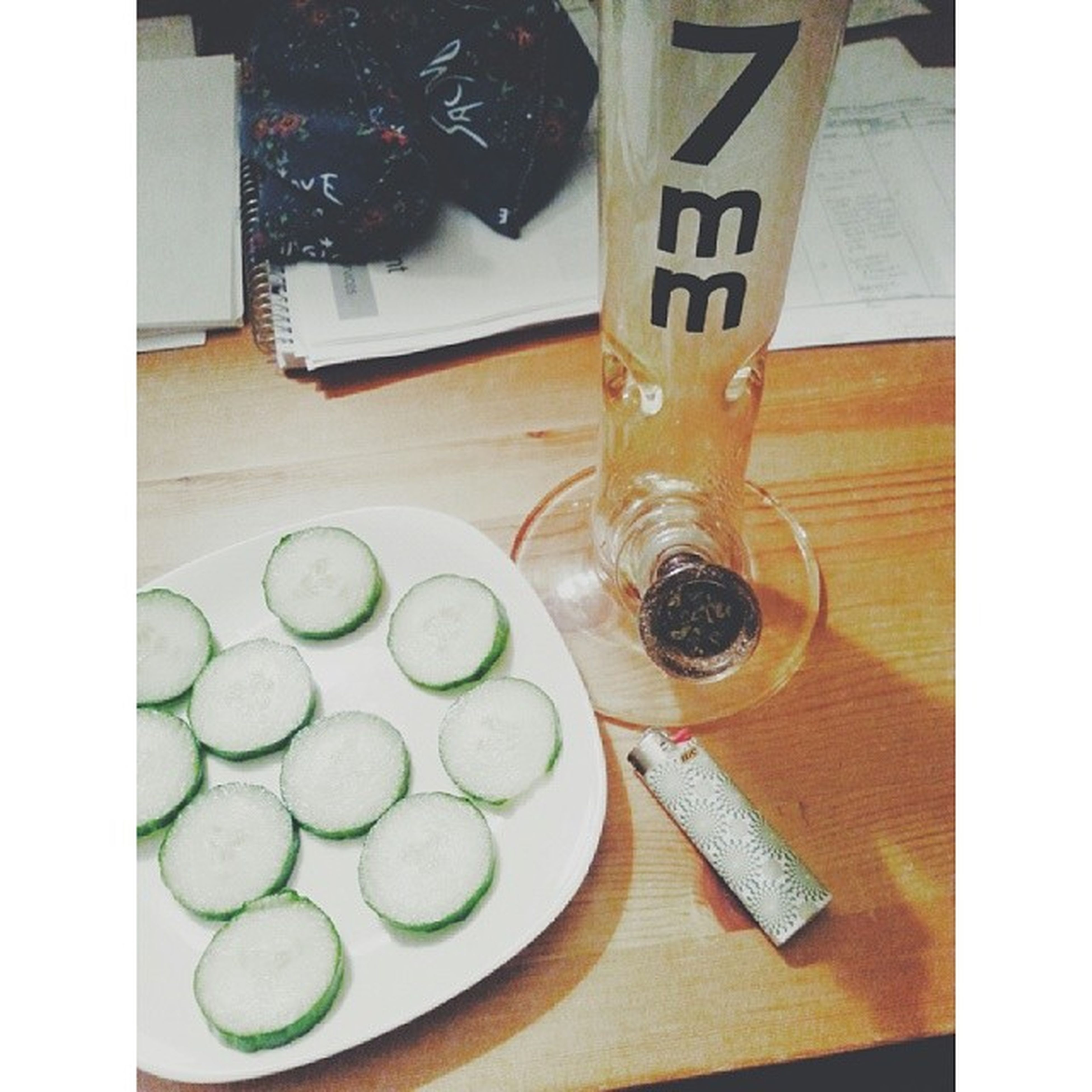 These are a few of my favourite things Cucumbers Bongs Gangagods Kief goodnight