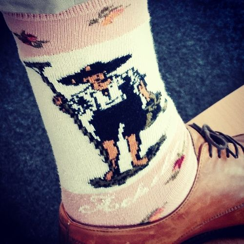 Socken vom #Schuhezeigen im Detail... ;) Socks Socken Schuhezeigen Achile