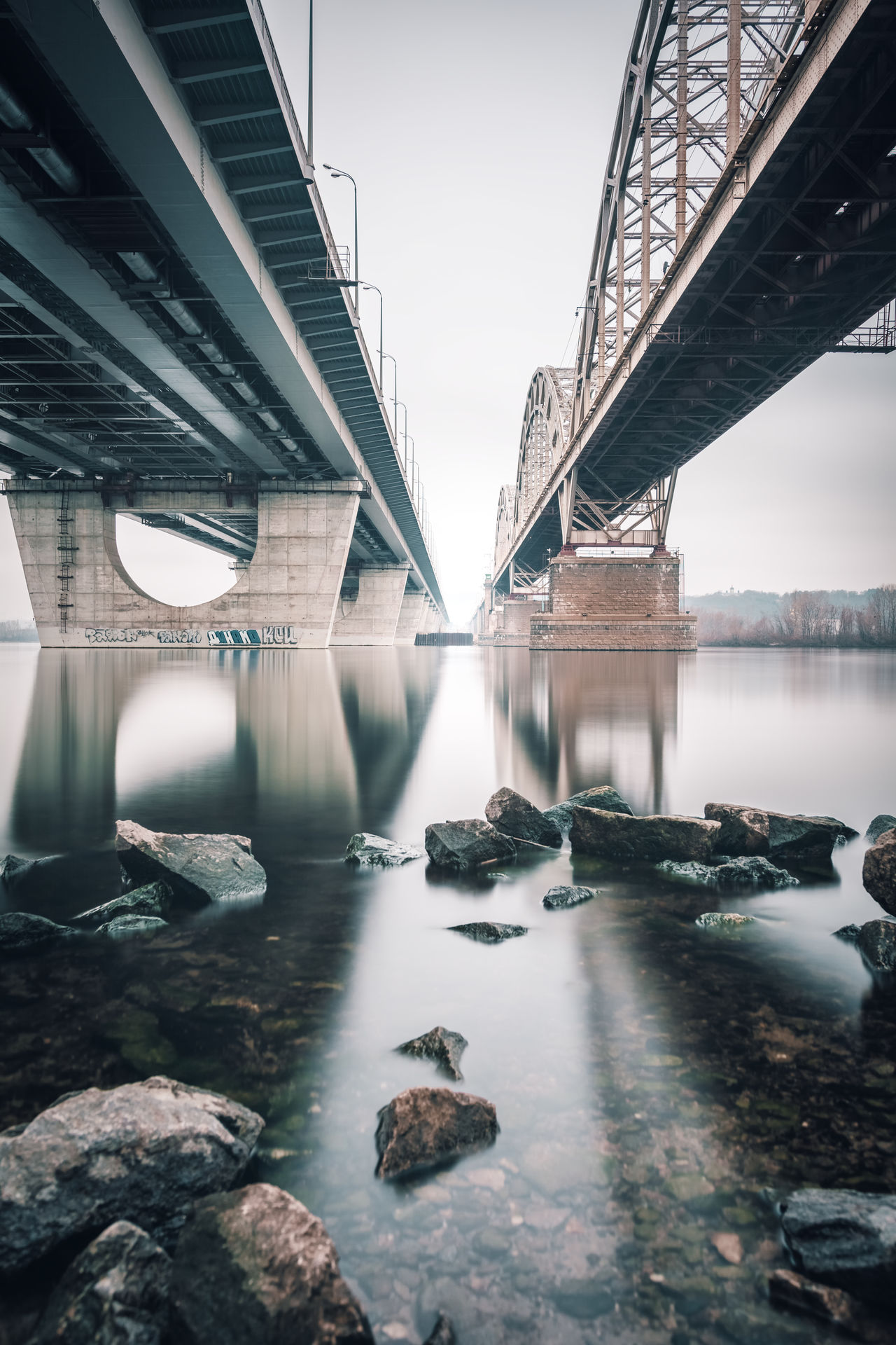 Beautiful stock photos of ukraine,  Architecture,  Bridge - Man Made Structure,  Built Structure,  Connection