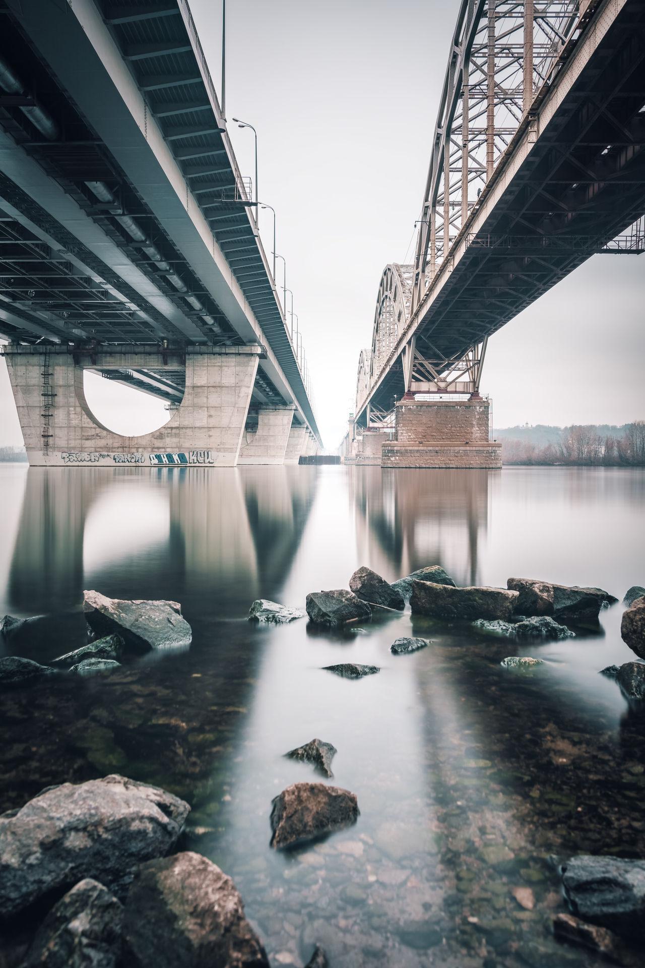 Beautiful stock photos of ukraine,  Architecture,  Bridge - Man Made Structure,  Built Structure,  Connection