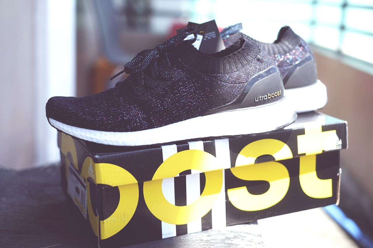 Ultra boost! Black Color Shoes Nmd Adidas Ultraboost Rubber Shoes Black Shoes Casual Wear Summer Get Up Colorful Summer Minimalism Illuminated Outdoor Fun