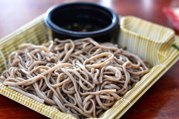 蕎麥麵 Food Photo Photography Photooftheday Photographer Kungxlieat Taiwan Taipei Buckwheat Noodles Cold Noodles Noodles