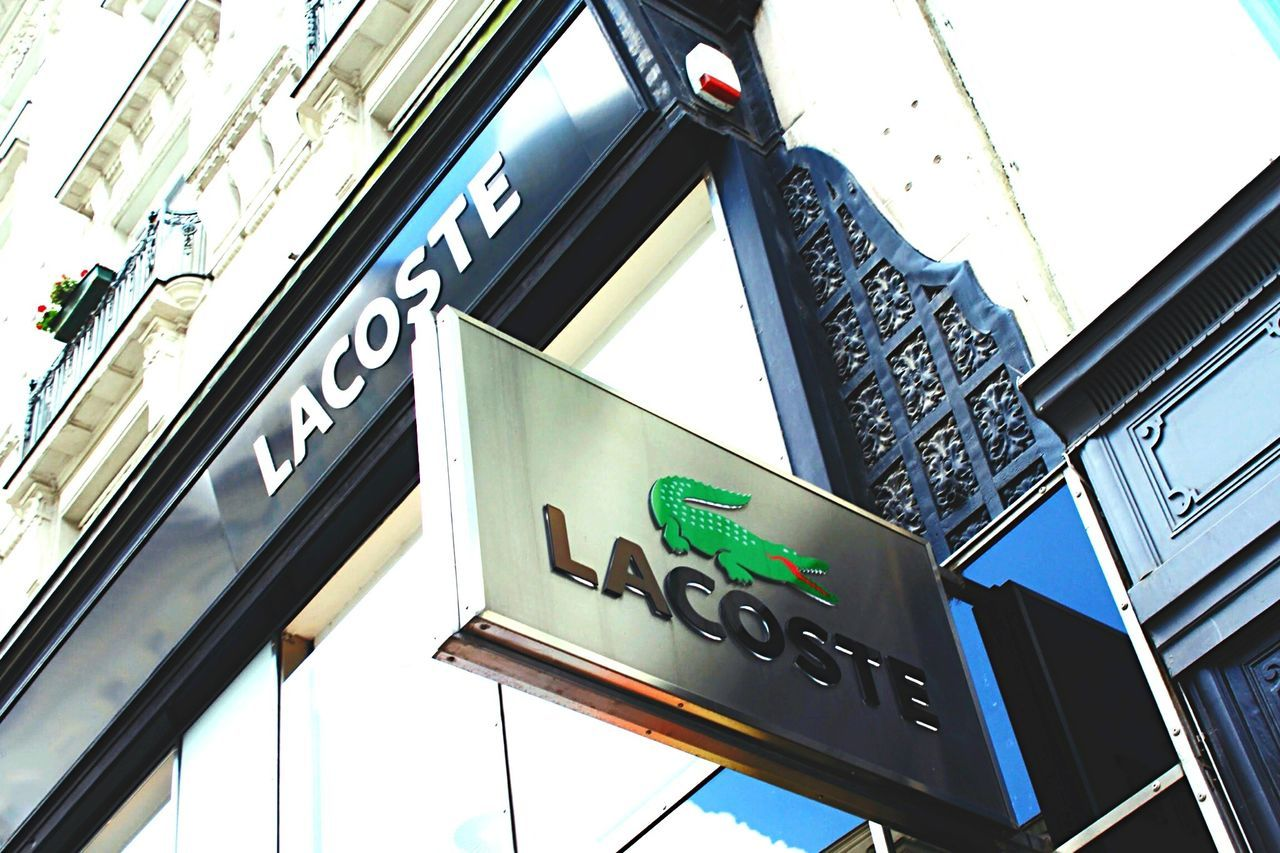 Lacoste Lacoste🐊 Crocodile Sign Shop Austria Vienna Vienna_city Building